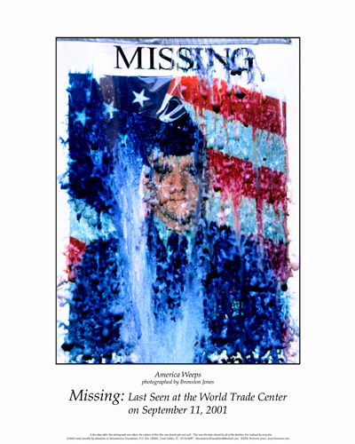 Missing Last Seen at the World Trade Center – Missing Persons Posters